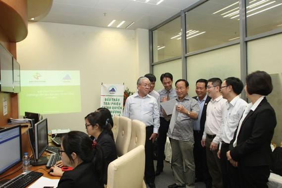 KBNN thu về hơn 56.000 tỷ đồng thông qua đấu thầu tại HNX