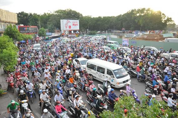 TPHCM: Đất giành giao thông đạt 8,8%