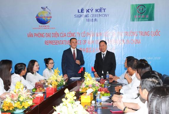 CTCP Nam Việt (An Giang) và Công ty Shanghai Fenglei International Trading Co., LTD (Trung Quốc) ký kết hợp đồng thương mại,