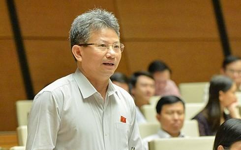 Đại biểu Quốc hội Đỗ Văn Sinh (Ảnh: Quochoi.vn)