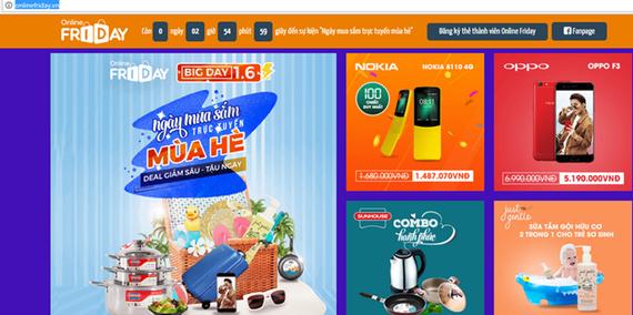 """""""Săn"""" hàng giảm giá trong Ngày hội mua sắm trực tuyến mùa Hè"""