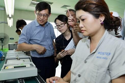 Hỗ trợ doanh nghiệp công nghệ tham gia chuỗi cung ứng Samsung