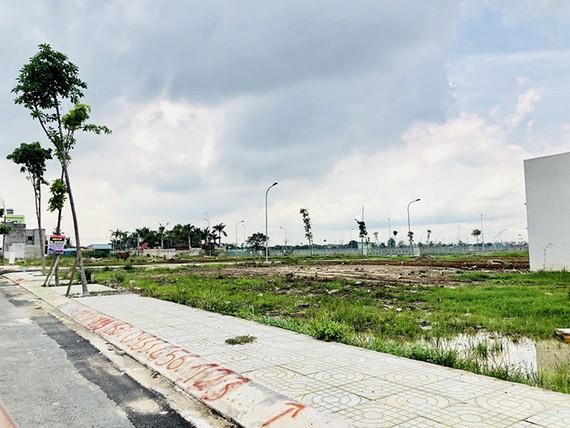 Sau một thời gian lên cơn sốt, đến nay thị trường đất nền đã chững lại