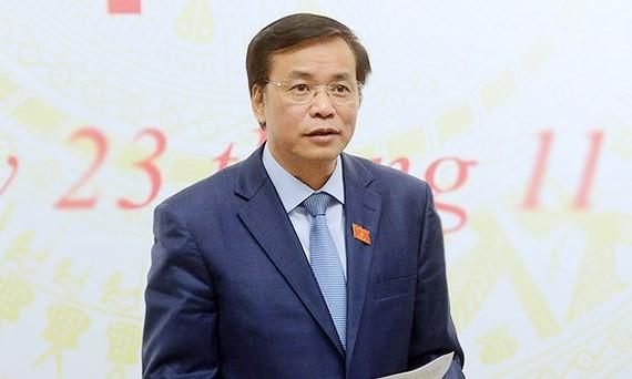 Tổng Thư ký Quốc hội - Chủ nhiệm Văn phòng Quốc hội Nguyễn Hạnh Phúc