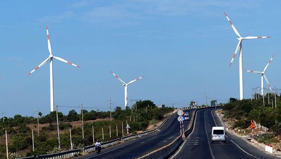 Điện gió tại H.Tuy Phong, Bình Thuận