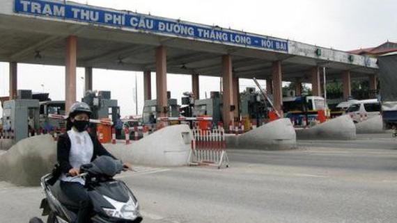 Trạm thu phí BOT Bắc Thăng Long - Nội Bài.