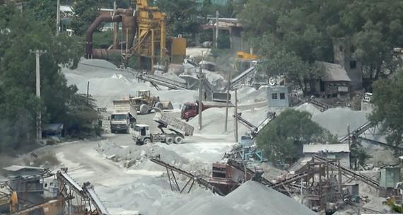 Bình Dương điều chỉnh quy hoạch cụm mỏ đá Tân Đông Hiệp