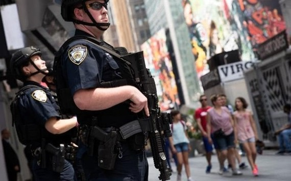 Cảnh sát Mỹ. (Nguồn: AP)