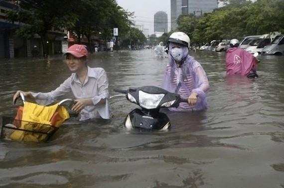TPHCM: Triển khai 25 công trình chống ngập tại các quận, huyện