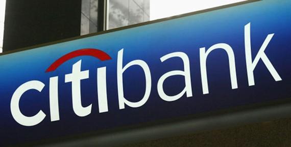 Logo của Ngân hàng Citi. Ảnh: huffingtonpost.com