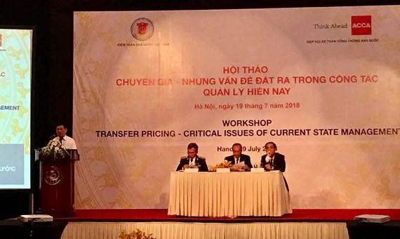 TS Hồ Đức Phớc, Tổng Kiểm toán Nhà nước phát biểu khai mạc Hội thảo