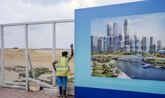 Khu quy hoạch xây dựng thành phố Port City tại Sri Lanka.