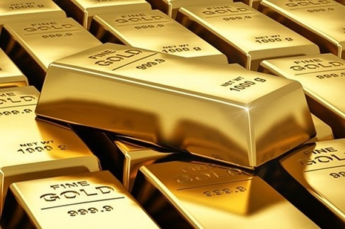 Giá vàng thế giới vẫn đứng ở mức đáy 12 tháng