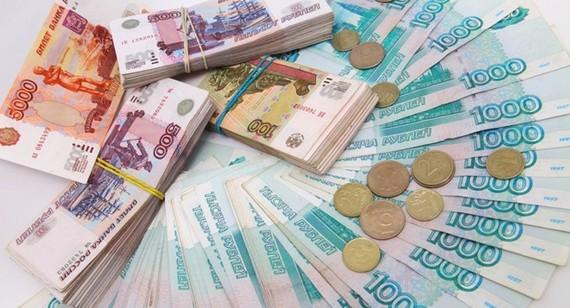 Đồng ruble Nga xuống mức thấp nhất trong 2 năm