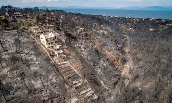 Người dân Hy Lạp trên thế giới giúp đỡ nạn nhân cháy rừng quê nhà