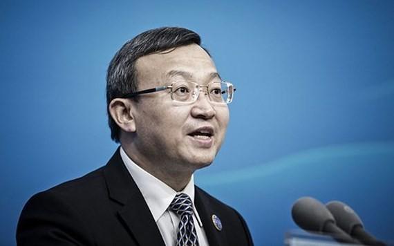 Thứ trưởng Bộ Thương mại Vương Thụ Văn sẽ dẫn đầu phái đoàn Trung Quốc đến Mỹ đàm phán thương mại. Nguồn: BLOOMBERG