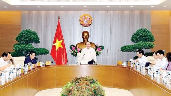 Thủ tướng Nguyễn Xuân Phúc chủ trì phiên họp Thường trực Chính phủ về công tác chuẩn bị, tổ chức Hội nghị Diễn đàn kinh tế thế giới về ASEAN năm 2018 (WEF ASEAN 2018)