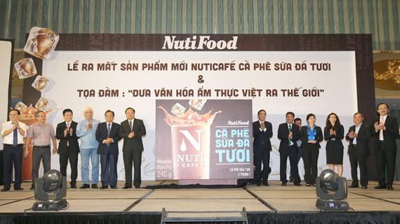 NutiFood quảng bá văn hóa cà phê sữa Việt Nam ra thế giới