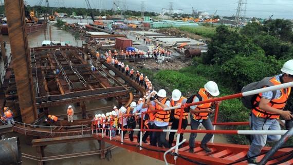 TPHCM: Đầu tư nhiều công trình giảm ngập