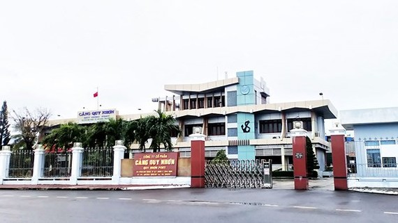 Trụ sở Công ty cổ phần Cảng Quy Nhơn
