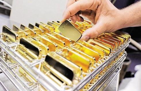 Giá vàng SJC cao hơn vàng thế giới 3 triệu đồng/lượng