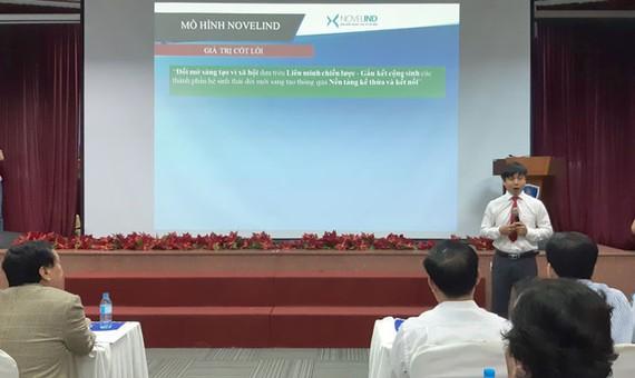 TS. Dương Trọng Hải, Viện trưởng Viện Khoa học và Công nghệ Industry 4.0 giới thiệu về Sàn tri thức Novelind.