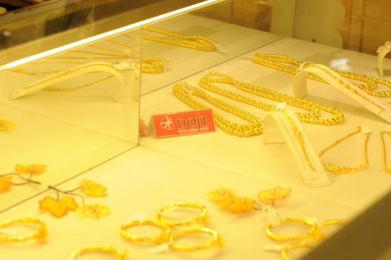 Giá vàng trong nước lại đảo chiều giảm