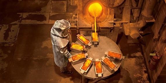 Nhân viên của tập đoàn khai thác vàng Barrick Gold. (Nguồn: briandcolwell.com)