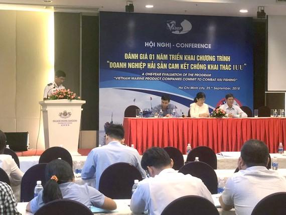 Hội nghị đánh giá 1 năm triển khai chương trình DN hải sản cam kết chống khai thác IUU.