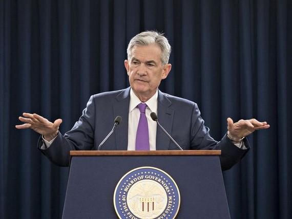 Chủ tịch Cục Dự trữ Liên bang Mỹ (Fed) Jerome Powell. (Nguồn: bloomberg)
