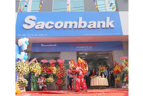 Sacombank khai trương chi nhánh Phú Lâm