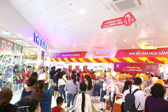 Vincom+ Sa Đéc thu hút hàng ngàn khách trong 2 ngày đầu hoạt động