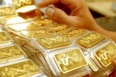 Giá vàng SJC vọt cao hơn thế giới 3,12 triệu đồng/lượng