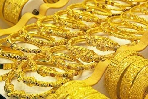 Giá vàng tăng nhẹ trong phiên giao dịch cuối tuần