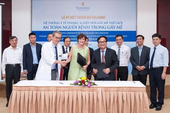 Vinmec: Bệnh viện gây mê phẫu thuật an toàn nhất Đông Nam Á