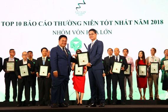 Novaland được vinh danh doanh nghiệp niêm yết 2018