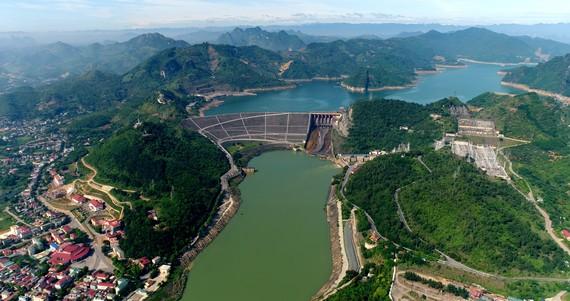 Công trình thủy điện Hòa Bình. Ảnh: VGP/Toàn Thắng