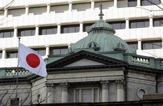 Trụ sở Ngân hàng Trung ương Nhật Bản tại Tokyo. (Nguồn: EPA/TTXVN)