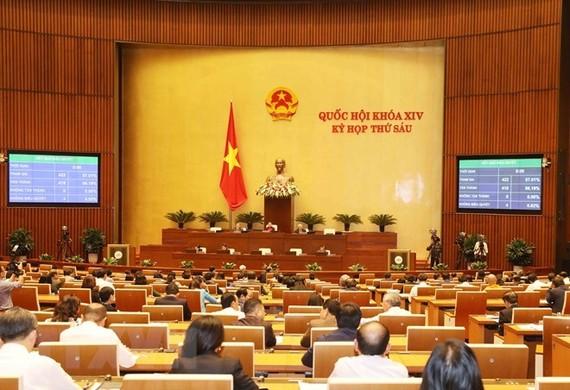 Ngày làm việc cuối cùng của kỳ họp thứ 6 Quốc hội khóa XIV
