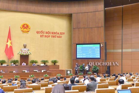 Quốc hội thông qua 5 dự án luật