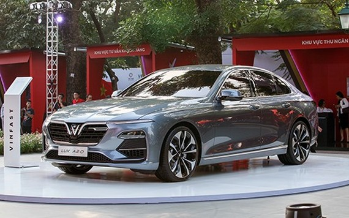 Dòng sedan Lux 2.0. Ảnh VNE