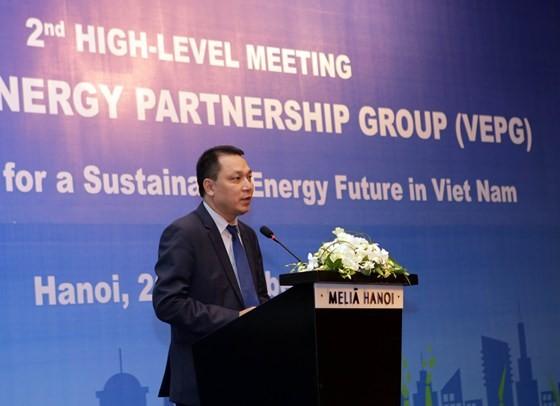 Thứ trưởng Bộ Công thương Đặng Hoàng An cam kết Việt Nam sẵn sàng đón nhận nguồn năng lượng sạch
