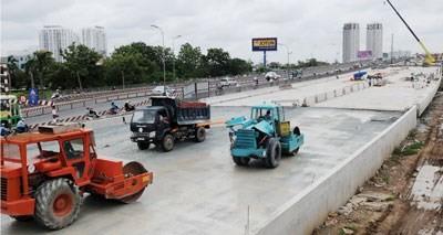 Nhiều công trình hạ tầng xây dựng bằng vốn vay nước ngoài