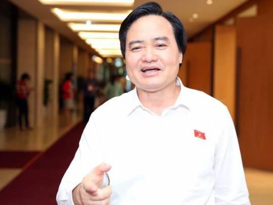 Bộ trưởng Bộ GDĐT Phùng Xuân Nhạ