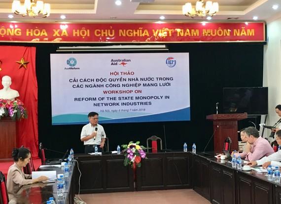 TS Nguyễn Đình Cung, Viện trưởng CIEM phát biểu khai mạc Hội thảo