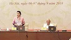 Ngày làm việc đầu tiên, Hội nghị đại biểu Quốc hội