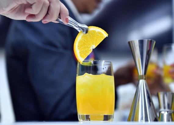 """Cocktail mang tên """"Cánh đồng vàng"""""""