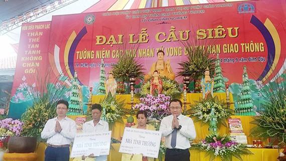 Cầu siêu cho nạn nhân tử vong do TNGT là hoạt động hàng năm của Hội Phật giáo Việt Nam
