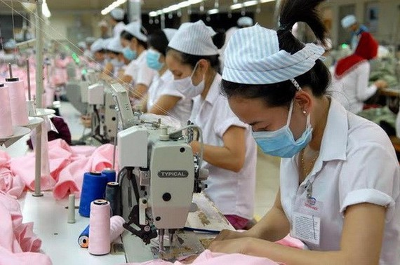 紡織品成衣出口。(圖源:互聯網)