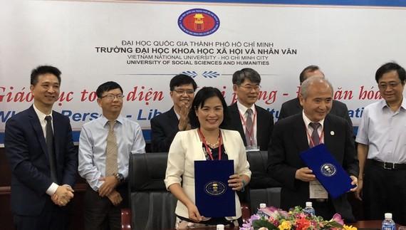 〔本報消息〕市人文社會科學大學昨(11)日上午在該大學會議室與台灣致理科技大學簽署合作合同。